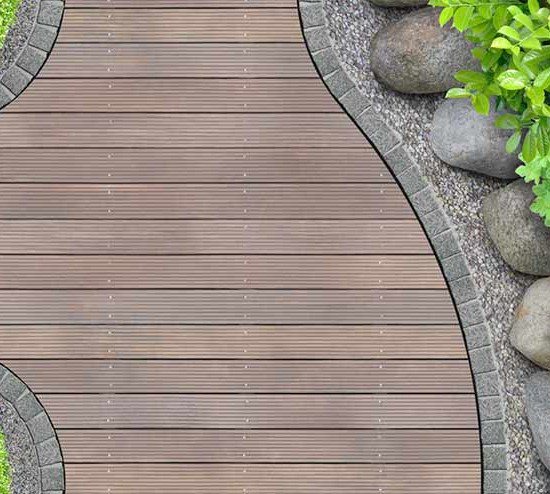 decking legni esotici como